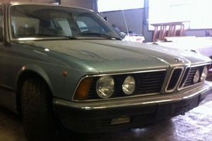 Small big konge harald bil bmw 745i nportal.no