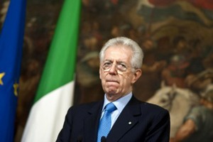 Small big mario monti  italia  pm