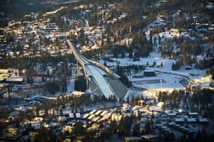 Small big holmenkollen oslo norway ski jump skocznia skoki norwegia nportal.no