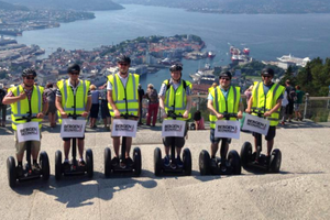 Small big segway bergen norway norwegia nportal.no