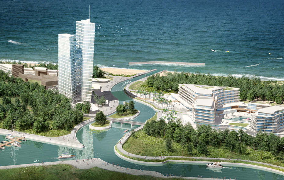 Big beach city mielno firmus holding  nportal.no