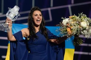 Small 97960230 epaselect epa05306868 ukraine27s jamala reacts after winning the 61st annual eurovision song large trans  eo i u9apj8ruoebjoaht0k9u7hhrjvuo zlengruma