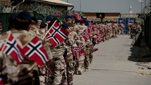 Small norway troops