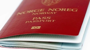 Small norsk pass norwegian pass  paszport norweski nportal.no nportal.no