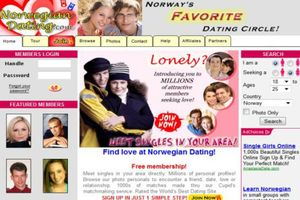 Small big norwegian dating on line  1