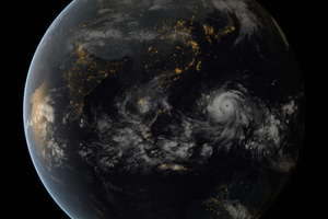 Small big typhoon haiyan approaching the philippines nportal.no