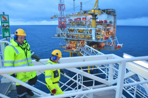 Small big platform oil gas statoil norway nportal.no