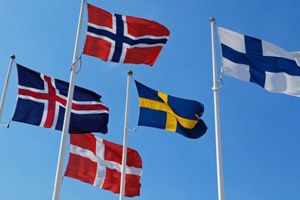 Small big 79857879 nordic flags
